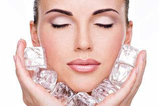 Cryotherapy - Ice Treatment for wrinkles & facial firming
