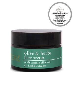 OLIVE & HERBS FACE SCRUB 50ml