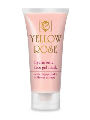 Yellow Rose Hyaluronic Face Gel Mask 50ml
