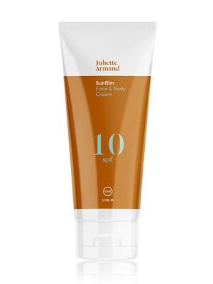 Juliette Armand Sunfilm Face and Body Cream SPF 10 200ml