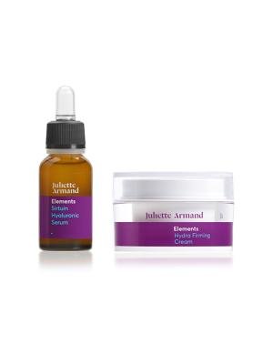 Juliette Armand Promo Pack Sirtuin Hyaluronic Serum 20ml + Hydra Firming Cream 50ml