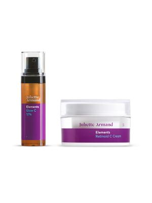 Juliette Armand Promo Pack Glow C 12% 10ml + Retinoid C Cream 50ml