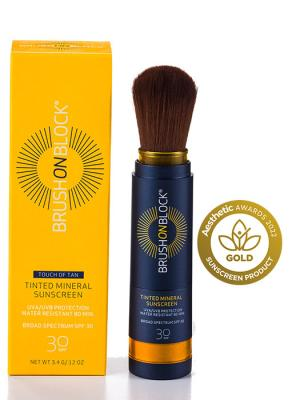 Brush on Block Tinted Mineral Sunscreen 3.4gr