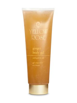 Gel αδυνατίσματος GINGER BODY GEL WITH GOLD AND SILK 250 ml